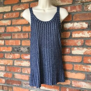 BKE Blue Tank Top